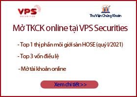 Widget mở tài khoản chứng khoán VPS